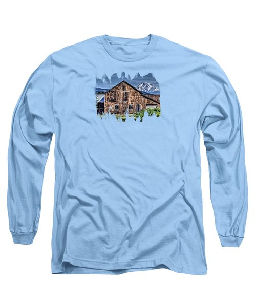 Long Sleeve T-Shirt featuring the photograph Mt. Adams by Thom Zehrfeld