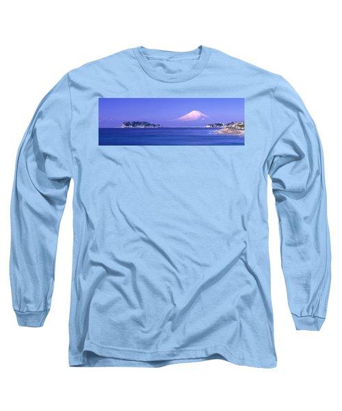 Mt Fuji Kanagawa Japan Long Sleeve T-Shirt