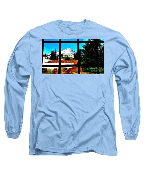 Mt. Hood View Long Sleeve T-Shirt