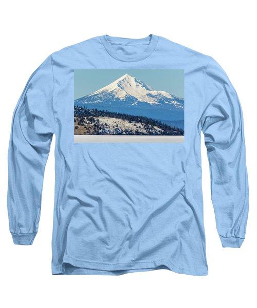 Long Sleeve T-Shirt featuring the photograph Mt. Mcloughlin by Marc Crumpler