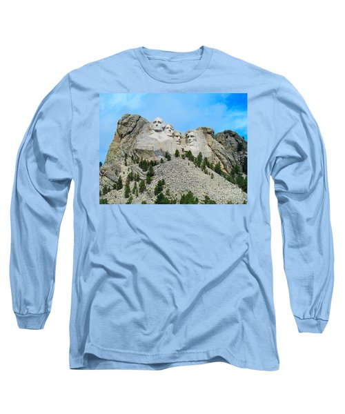 Mt Rushmore Long Sleeve T-Shirt
