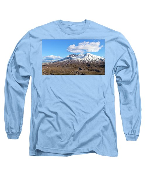 Mt Saint Helens Long Sleeve T-Shirt