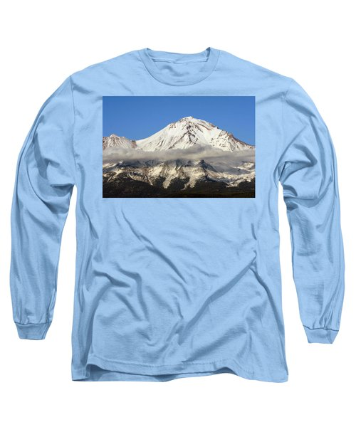Long Sleeve T-Shirt featuring the photograph Mt. Shasta Summit by Holly Ethan