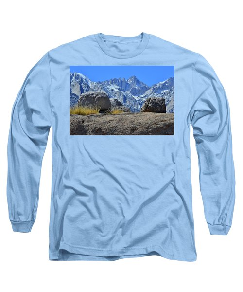 Mt. Whitney - Highest Point In The Lower 48 States Long Sleeve T-Shirt