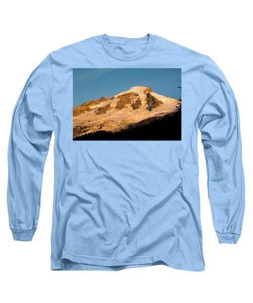 Mt.baker At Sunset  Long Sleeve T-Shirt