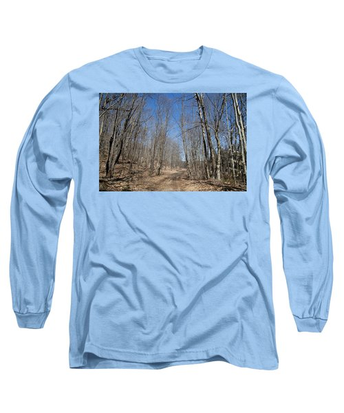 Long Sleeve T-Shirt featuring the photograph Mud Season In The Adirondacks by David Patterson