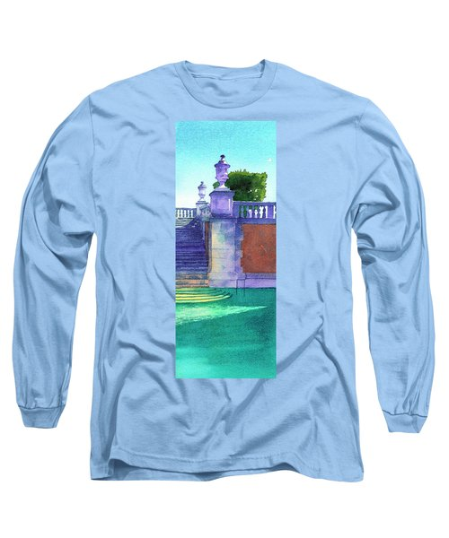 Museum Pool, Miami Long Sleeve T-Shirt