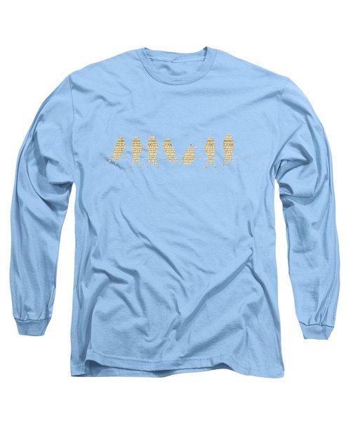 Musical Birds Tee Long Sleeve T-Shirt