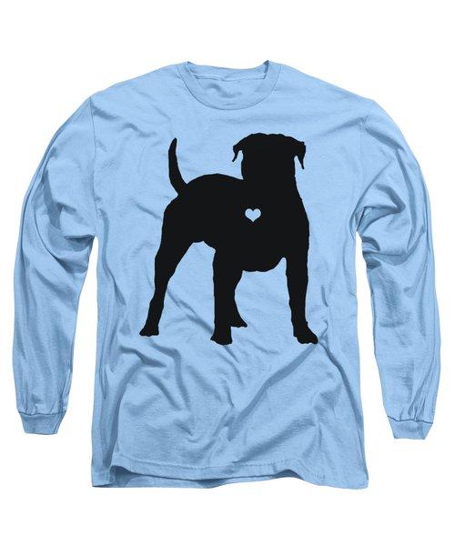 My American Bulldog Heart Belongs To You Long Sleeve T-Shirt
