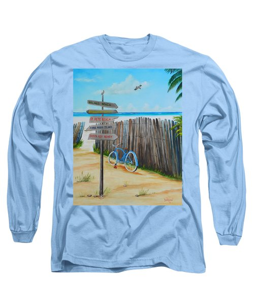 My Favorite Beaches Long Sleeve T-Shirt