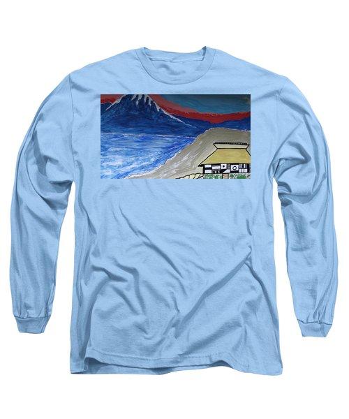 My Fuji House In Japan  Long Sleeve T-Shirt