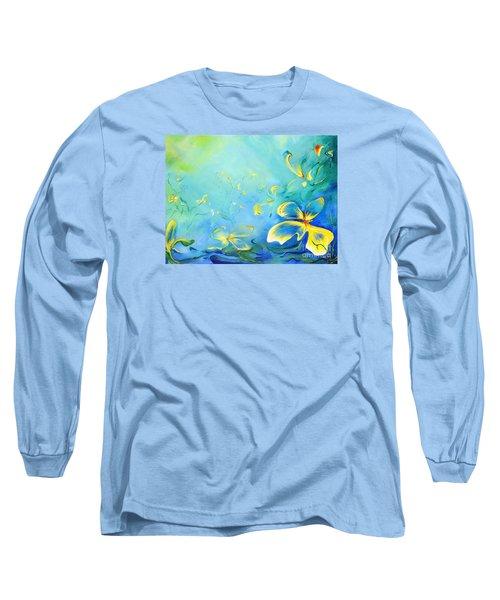 My World Long Sleeve T-Shirt by Teresa Wegrzyn