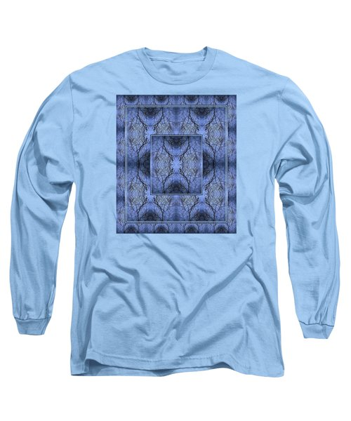 Long Sleeve T-Shirt featuring the photograph Mystery Blue by Joy Nichols
