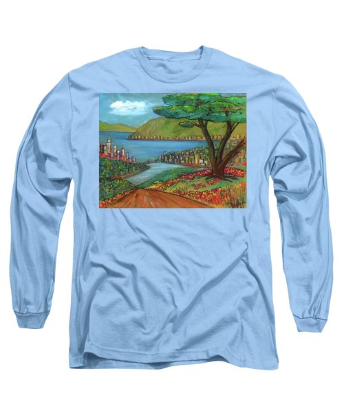 Mystery Painting From 1961 Long Sleeve T-Shirt