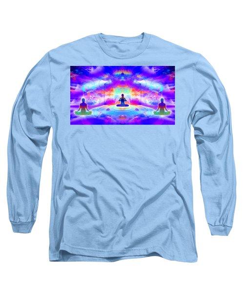 Long Sleeve T-Shirt featuring the digital art Mystic Universe 10 by Derek Gedney