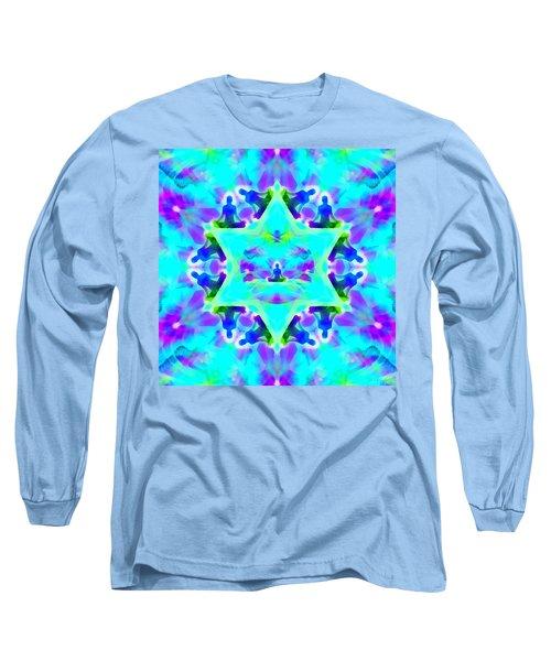 Long Sleeve T-Shirt featuring the digital art Mystic Universe Kk 8 by Derek Gedney