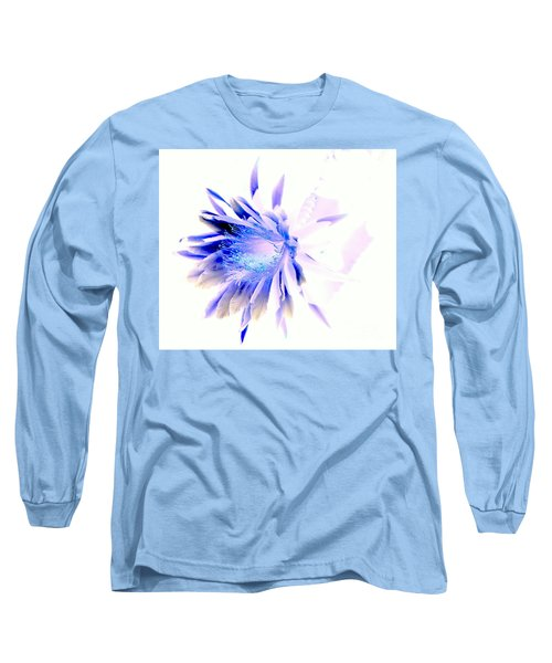 Mystical Phenomenoms Of The Southwest Cactus Orchid Long Sleeve T-Shirt by Antonia Citrino