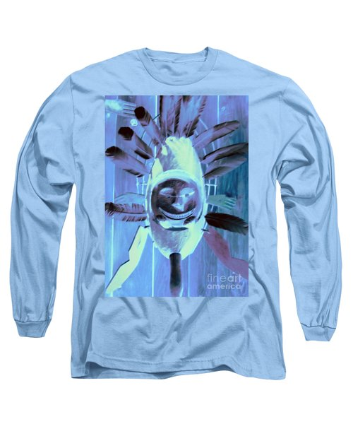 National Museum Of The American Indian 9 Long Sleeve T-Shirt by Randall Weidner