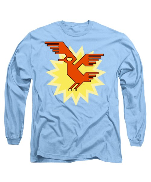 Native South American Condor Bird Long Sleeve T-Shirt
