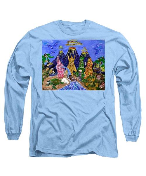 Nativi-tiki Long Sleeve T-Shirt