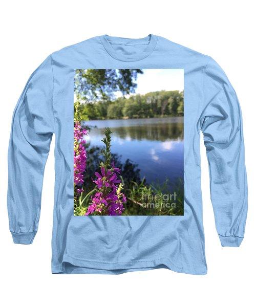 Nature Channelling  Long Sleeve T-Shirt by Jason Nicholas