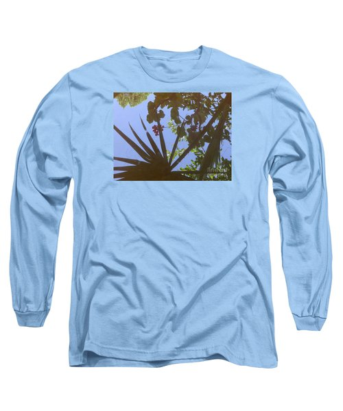 Long Sleeve T-Shirt featuring the photograph Nature Reflected by Nora Boghossian