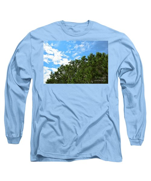 Long Sleeve T-Shirt featuring the photograph Nature's Beauty - Central Texas by Ray Shrewsberry