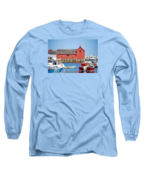 Nautical Rockport Days Long Sleeve T-Shirt
