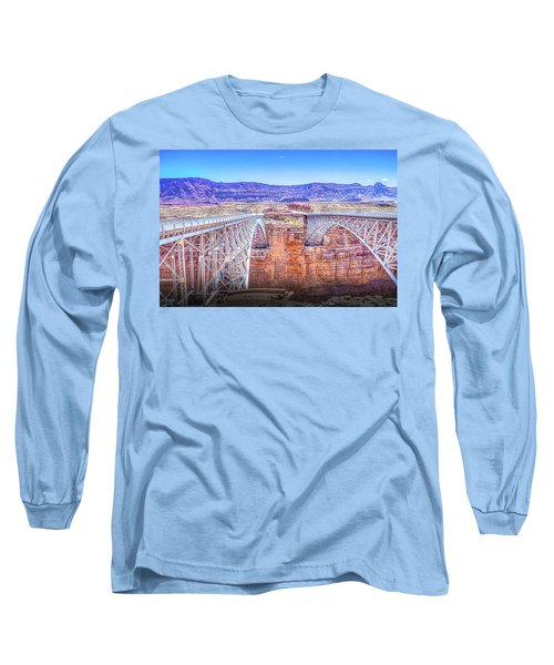 Navajo Bridge Long Sleeve T-Shirt by Mark Dunton