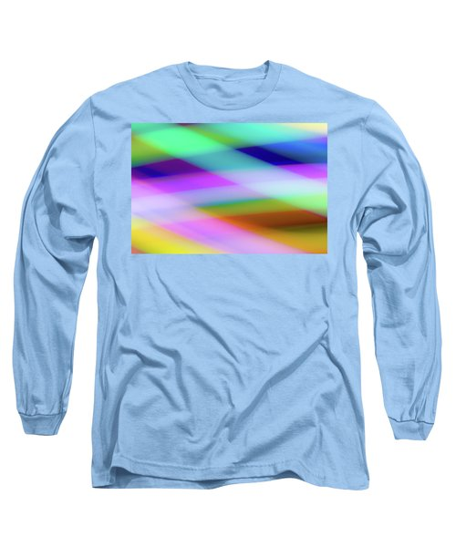Long Sleeve T-Shirt featuring the photograph Neon Crossing by Shara Weber