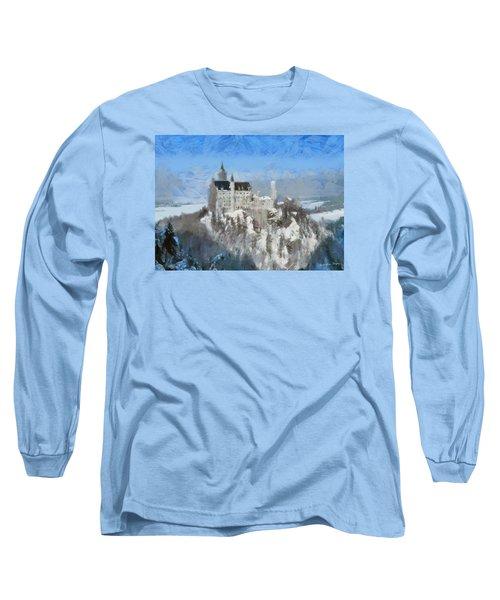 Neuschwanstein Castle Long Sleeve T-Shirt by Sergey Lukashin