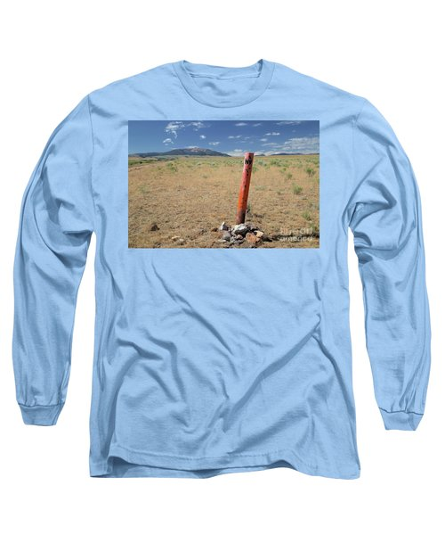 Nevada State Line Long Sleeve T-Shirt