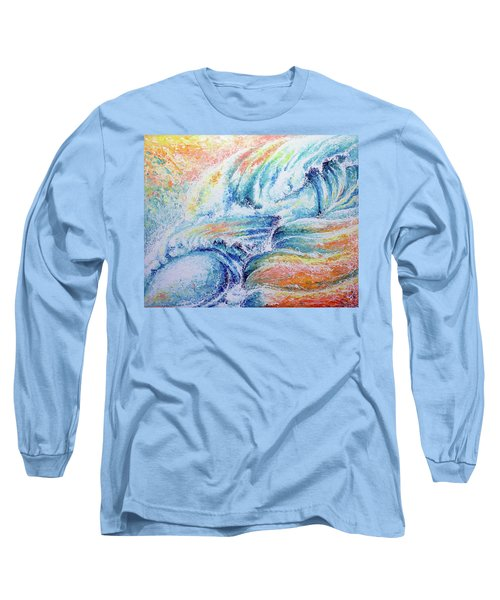 Long Sleeve T-Shirt featuring the painting New Born by William Love