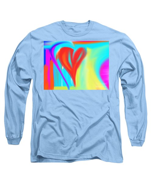 New Heart Long Sleeve T-Shirt