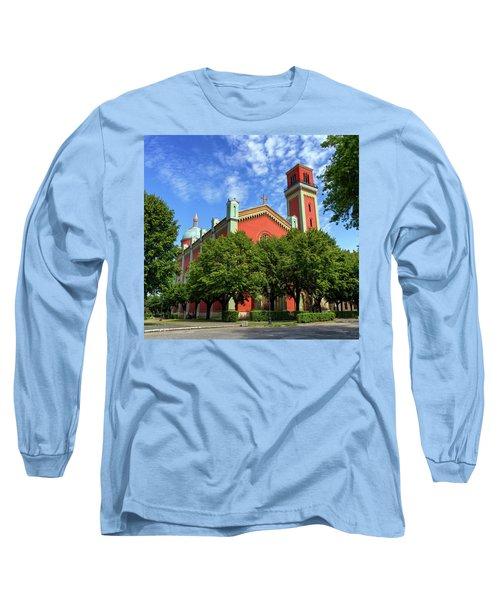 New Lutheran Church In Kezmarok, Slovakia Long Sleeve T-Shirt by Elenarts - Elena Duvernay photo