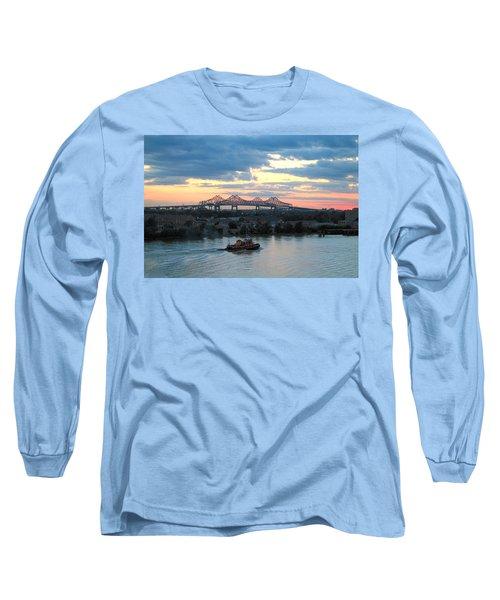 New Orleans Riverfront Long Sleeve T-Shirt