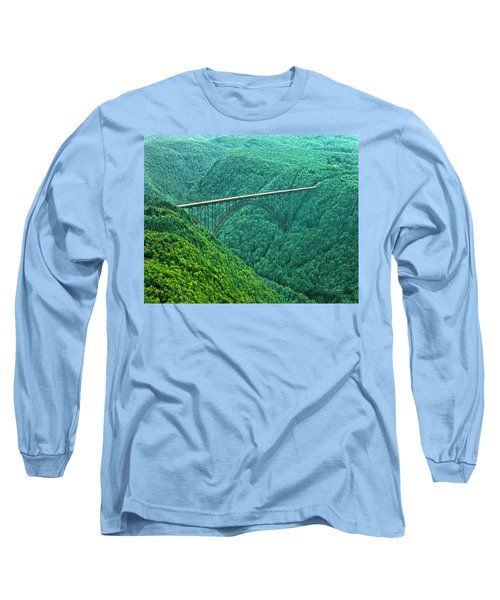 New River Gorge Bridge Long Sleeve T-Shirt