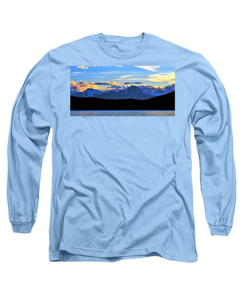 New World Long Sleeve T-Shirt by Martin Cline