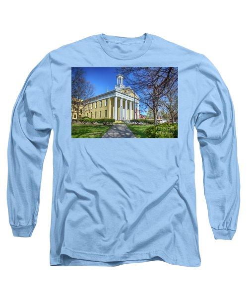 Newburgh Courthouse On Grand Street 1 Long Sleeve T-Shirt