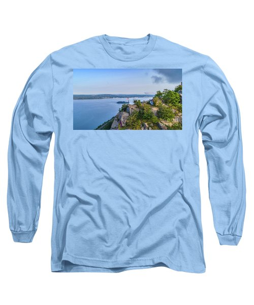 Newburgh From Breakneck Ridge Long Sleeve T-Shirt
