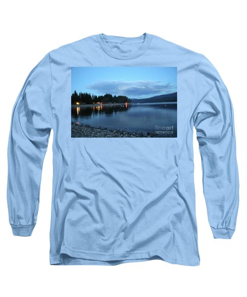 Long Sleeve T-Shirt featuring the photograph Night Fall by Victor K