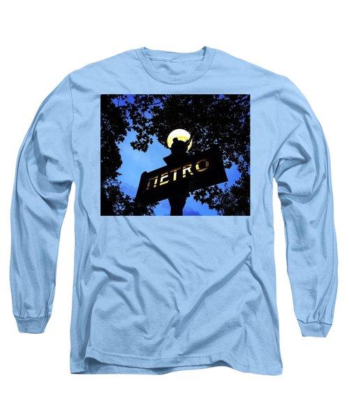 Night Ride Long Sleeve T-Shirt