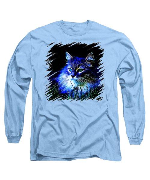 Night Stalker Tp Long Sleeve T-Shirt by Kathy Kelly