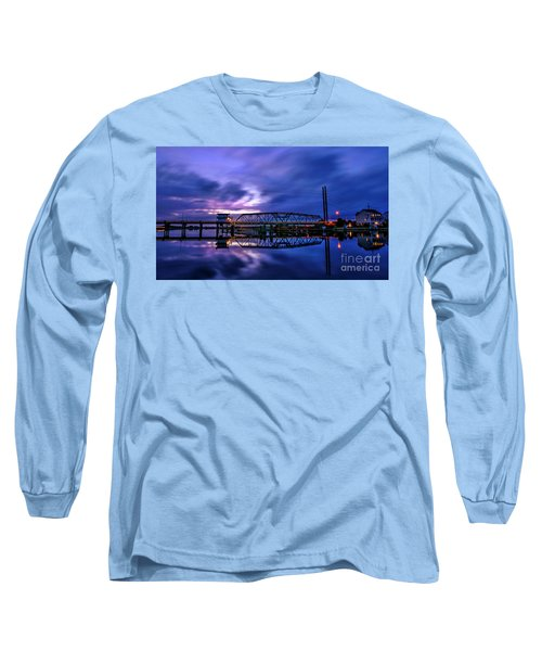 Night Swing Bridge Long Sleeve T-Shirt