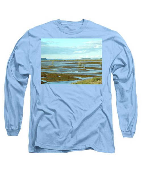 Nisqually Looking North Long Sleeve T-Shirt