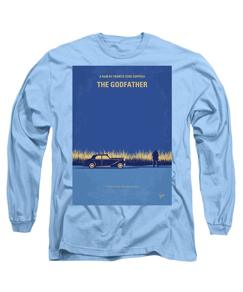No686-1 My Godfather I Minimal Movie Poster Long Sleeve T-Shirt