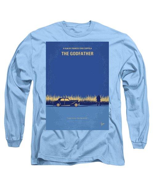 No686-1 My Godfather I Minimal Movie Poster Long Sleeve T-Shirt