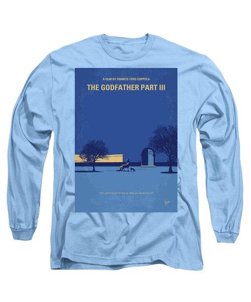 No686-3 My Godfather IIi Minimal Movie Poster Long Sleeve T-Shirt