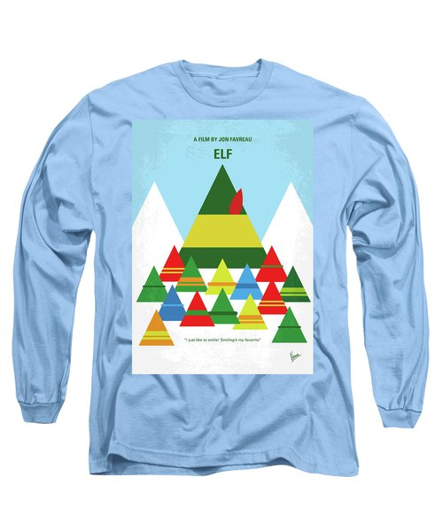 No699 My Elf Minimal Movie Poster Long Sleeve T-Shirt