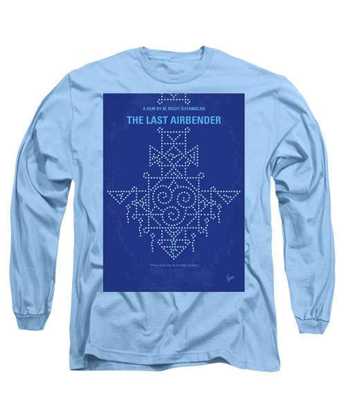 Long Sleeve T-Shirt featuring the digital art No764 My The Last Airbender Minimal Movie Poster by Chungkong Art